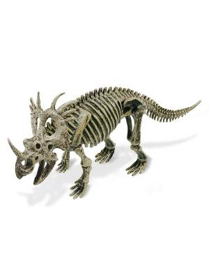 Яйца динозавра Юрский период - Стиракозавр Geoworld. Цвет: бежевый, голубой, желтый, зеленый, коричневый, светло-бежевый, темно-бежевый