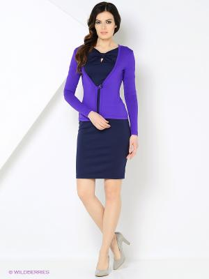 Кардиган RUXARA. Цвет: фиолетовый