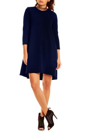 Платье Karen. Цвет: синий