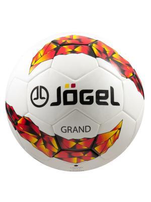 Мяч футбольный Jоgel JS-1000 Grand №5 Jogel. Цвет: черный, белый, желтый, красный
