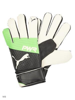 Перчатки вратарские evoPOWER Grip 3.3 RC Puma. Цвет: салатовый
