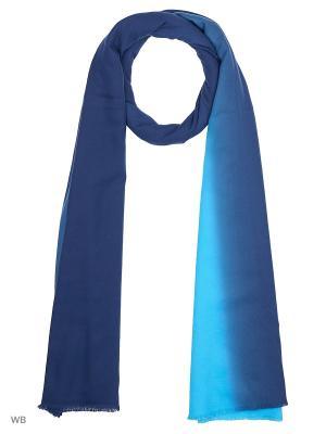 Палантин Pur. Цвет: голубой