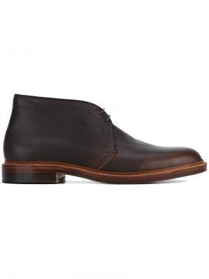 Classic desert boots Alden. Цвет: коричневый