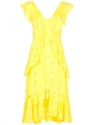 Платье Clair De Lune Alice Mccall. Цвет: жёлтый и оранжевый