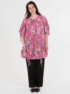 Блузка-туника женская БаяНа. Цвет: розовый