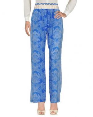 Повседневные брюки CAPRI. Цвет: синий