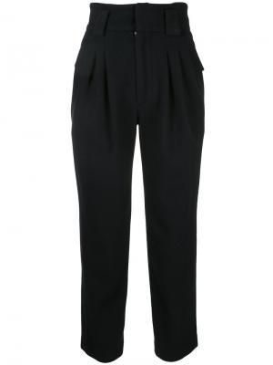 Укороченные брюки Mikio Sakabe. Цвет: синий