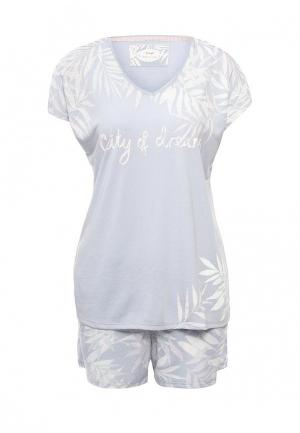 Пижама Triumph. Цвет: серый