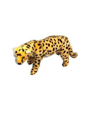 Мягкая игрушка Леопард Азбука Тойс. Цвет: оранжевый
