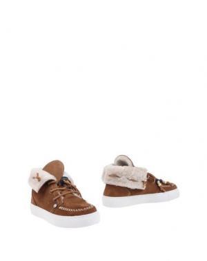 Полусапоги и высокие ботинки DOLFIE. Цвет: хаки