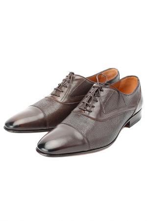 Туфли Moreschi. Цвет: коричневый