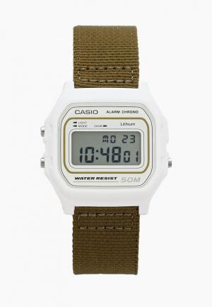 Часы Casio. Цвет: бежевый