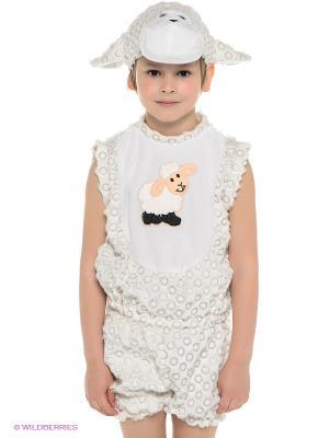 Карнавальный костюм Овенчик Сипсик Батик. Цвет: молочный