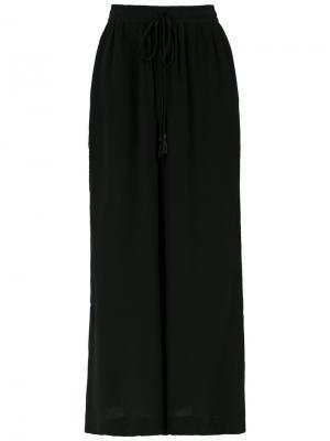 Wide leg trousers Osklen. Цвет: чёрный