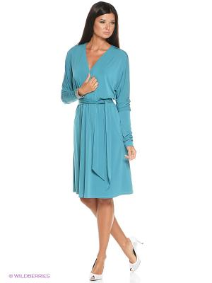 Платье Надя Alina Assi. Цвет: бирюзовый
