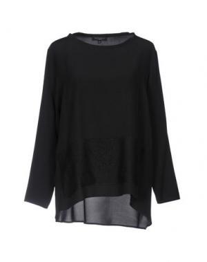 Блузка ANTONELLI. Цвет: черный