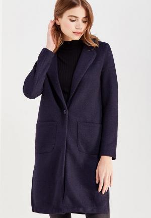 Пальто Marks & Spencer. Цвет: синий