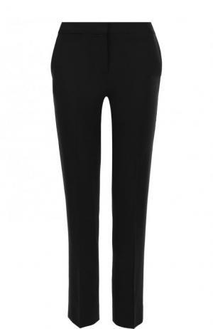 Укороченные брюки прямого кроя со стрелками Diane Von Furstenberg. Цвет: черный
