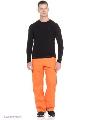 Брюки DC Shoes. Цвет: оранжевый
