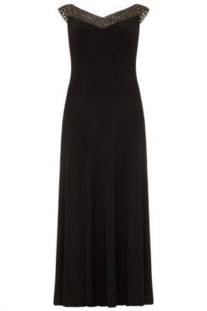 Платье DYNASTY CURVE. Цвет: black