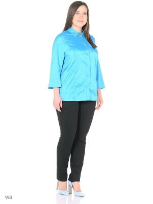 Блузка BERKLINE. Цвет: лазурный