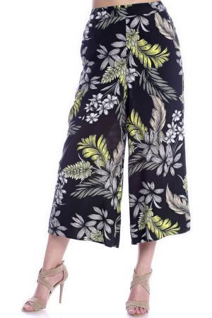 Брюки Emma Monti. Цвет: черный