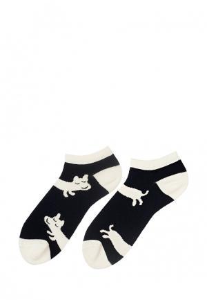 Носки Sammy Icon. Цвет: черно-белый