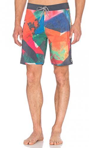 Плавательные шорты larry Captain Fin. Цвет: розовый