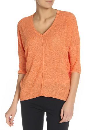 Блуза BGN. Цвет: оранжевый