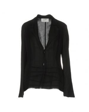 Пиджак CLAUDE MONTANA. Цвет: черный