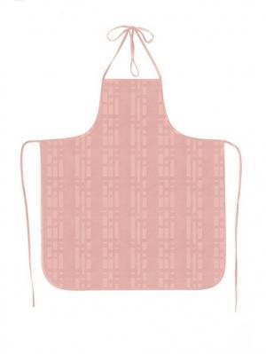 Фартук ПВХ Silk, модель 4 DEKORTEX. Цвет: бледно-розовый