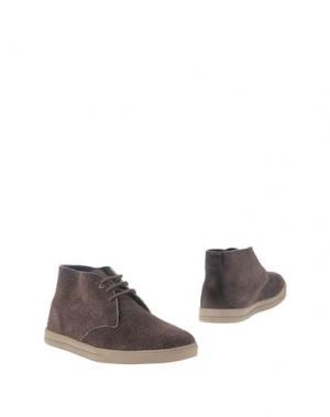 Полусапоги и высокие ботинки CLAE. Цвет: какао