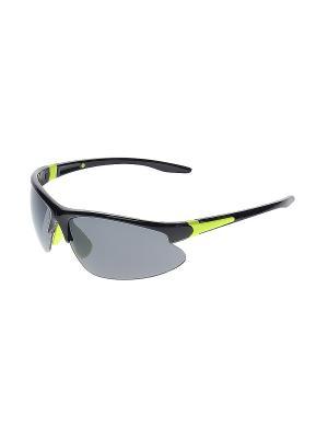 Очки солнцезащитные Infiniti. Цвет: серый, салатовый, черный