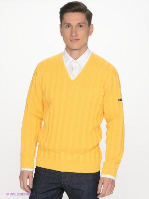 Пуловер Navigare. Цвет: желтый
