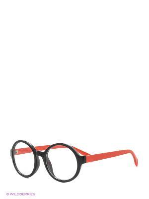 Солнцезащитные очки Vittorio Richi. Цвет: черный, оранжевый
