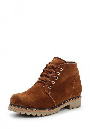 Ботинки Ascalini. Цвет: коричневый
