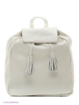 Рюкзак Trussardi. Цвет: белый