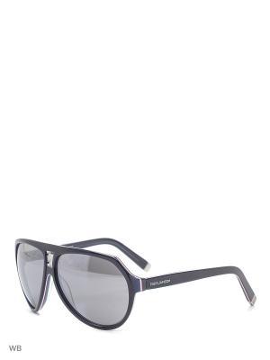 Солнцезащитные очки DQ 0058 92C Dsquared2. Цвет: темно-синий, красный, белый
