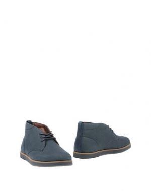 Полусапоги и высокие ботинки BOXFRESH. Цвет: темно-синий