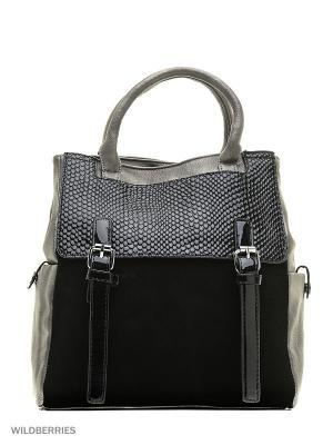 Сумка-рюкзак Sofiya. Цвет: черный