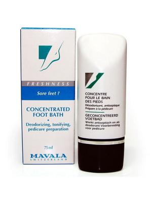 Концентрат для ножных ванн Concentrated Foot Bath 75ml Mavala. Цвет: белый