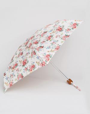 Cath Kidston Кремовый зонт с цветочным принтом 2. Цвет: мульти