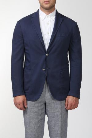 Пиджак Smalto. Цвет: темно-синий