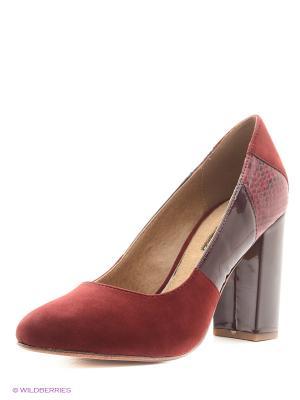 Туфли Mariamare. Цвет: бордовый