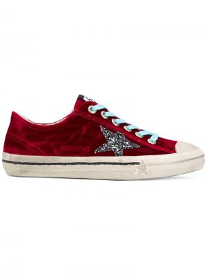 V-Star sneakers Golden Goose Deluxe Brand. Цвет: красный