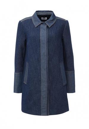 Пальто Sonia by Rykiel. Цвет: синий