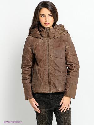 Куртка Timezone. Цвет: коричневый