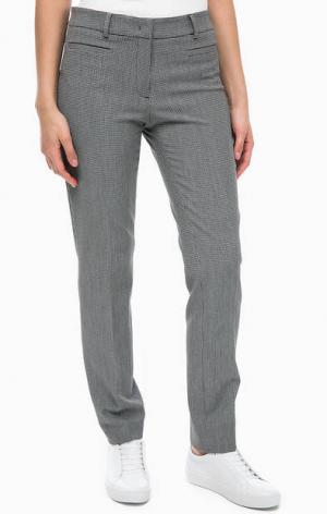 Серые трикотажные брюки MORE &. Цвет: серый