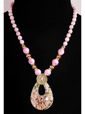Колье Castlelady. Цвет: бронзовый, золотистый, розовый