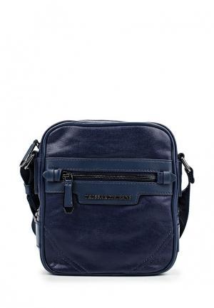Сумка Trussardi Jeans. Цвет: синий